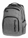 Plecak szkolny młodzieżowy COOLPACK BREAK 2 szary, SNOW GREY 843 (75954)