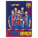 Teczka rysunkowa A4 z gumką FC BARCELONA (TGA4BC1)
