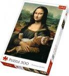 TREFL Puzzle 500 el. Mona Lisa i kot Mruczek (37294)