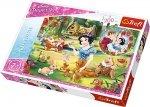 TREFL Puzzle 200 el. Królewna śnieżka, Marzenie o miłości (13204)