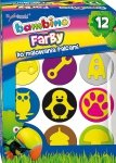 Farby do malowania palcami + stempelki BAMBINO dla chłopca (03165)