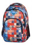 Plecak szkolny młodzieżowy COOLPACK BASIC w kolorowe kwadraty, MOTION CHECK 891 (68987)