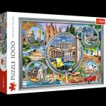 TREFL Puzzle 1000 el. Włoskie wakacje (10585)