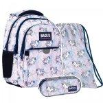 ZESTAW 3 el. Plecak wczesnoszkolny BackUP 24 L PEGAZ (PLB4P25SET3CZ)