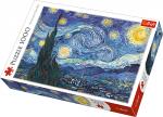 TREFL Puzzle 1000 el. Gwiaździsta noc, Vincent van Gogh (10560)