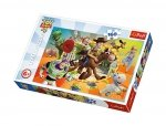 TREFL Puzzle 160 el. Toy Story, W świecie zabawek (15367)