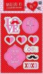 Nalepki dekoracyjne naklejki A5 LOVE  (36661)