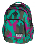 Plecak CoolPack BREAK 2 zielono - różowe moro, CAMOUFLAGE EMERALD 868 (76548)