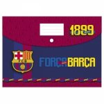 Teczka kopertowa A4 na zatrzask FC BARCELONA (TKA4BC10)