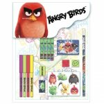 Zestaw 16 przyborów szkolnych ANGRY BIRDS (Z16PAB13)