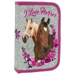 Piórnik I Love Horses KONIE bez wyposażenia (PJKO13)