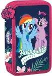 Piórnik podwójny z wyposażeniem My Little Pony Kucyki (92395)