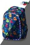 Plecak CoolPack LED JOY M zabawne potworki FUNNY MONSTERS (94729)