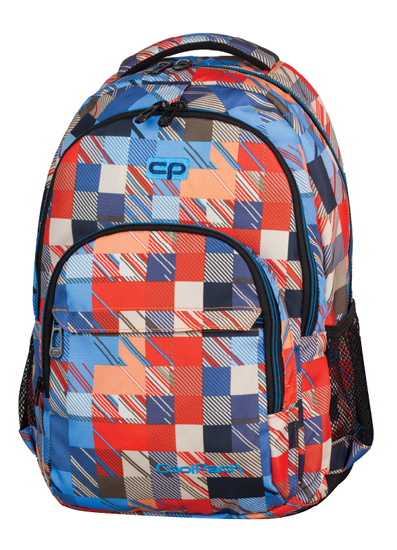 502e2a3054afb Plecak szkolny młodzieżowy COOLPACK BASIC w kolorowe kwadraty ...