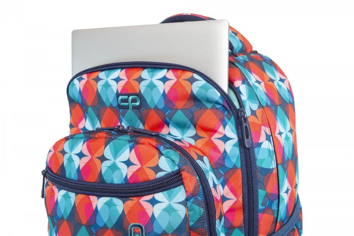 158fbdfcf3f81 Plecak CoolPack SWIFT na kółkach w magiczne liście