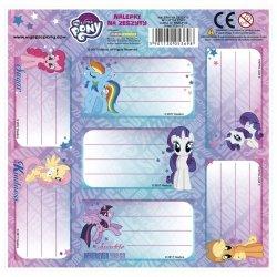 Nalepki na zeszyty My Little Pony Kucyki (NNZLP)
