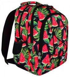 Plecak młodzieżowy ST.RIGHT czarny w arbuzy WATERMELON BP32 (19458)
