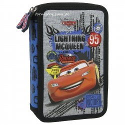 Piórnik z wyposażeniem CARS AUTA, licencja Disney (PWDCA38)