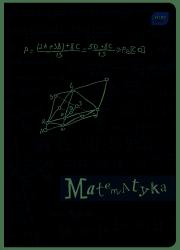 Zeszyt tematyczny przedmiotowy A5 60 kartek w kratkę MATEMATYKA (30102)