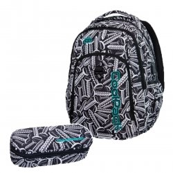 ZESTAW 2 el. Plecak CoolPack STRIKE L w śrubki, SCREWS (B18033SET2CZ)