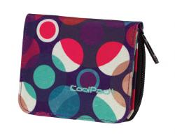 Portfel młodzieżowy CoolPack HAZEL w kolorowe kropki, MOSAIC DOTS 728 (72632)