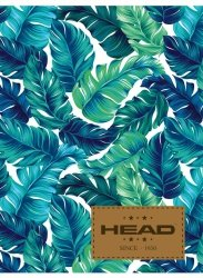 Zeszyt A5 w kratkę 60 kartek HEAD w liście BOTANIQUE HD-364 (102019022)