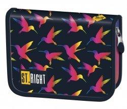 Piórnik St.Right bez wyposażenia w tęczowe ptaki, RAINBOW BIRDS PC03 (22533)