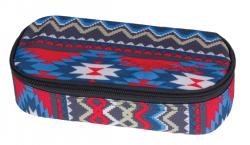 Piórnik CoolPack CAMPUS w kolorowe wzory, BOHO BEIGE 805 (74902)