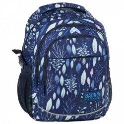 Plecak szkolny młodzieżowy BackUP LIŚCIE (PLB2G61)