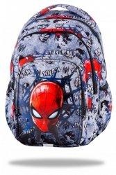 ZESTAW 3 el. Plecak CoolPack SPARK Spiderman na szarym tle, SPIDERMAN BLACK (B46303SET3CZ)