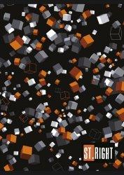 Zeszyt A5 w kratkę 60 kartek CUBES (22977)