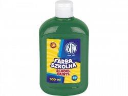 Farba szkolna ZIELONA CIEMNA 500 ml ASTRA (40128)