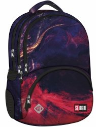 Plecak szkolny młodzieżowy ST.RIGHT w płomienie, FLAMES BP7 (21314)