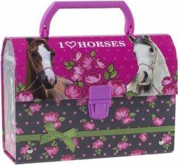 Kuferek oklejany I Love Horses KONIE (KOKO04)