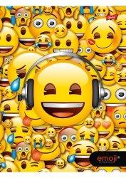 Zeszyt A4 w kratkę 60 kartek Emoji EMOTIKONY (42397)