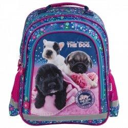 ZESTAW 6 el. Plecak szkolny THE DOG (PL15BTD34SET6CZ)