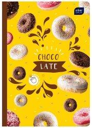 Zeszyt zapachowy A5 60 kartek w linię CHOCOLATE czekolada (67269)