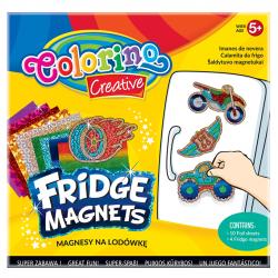 Magnesy na lodówkę COLORINO CREATIVE wzór MOTOR (36957)