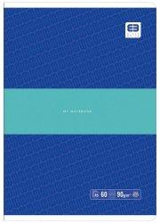 Zeszyt A5 60 kartek w linię BB PASTEL Niebieski (55617)