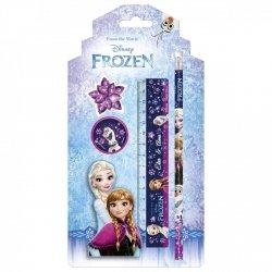Zestaw 4 przyborów szkolnych Frozen KRAINA LODU (ZPS4KL22)