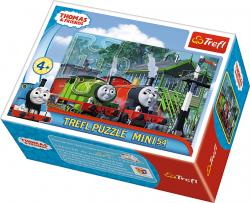 TREFL Puzzle mini 54 el. Tomek i przyjaciele (19550)