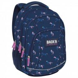 Plecak szkolny młodzieżowy BackUP KONIE (PLB2A17)