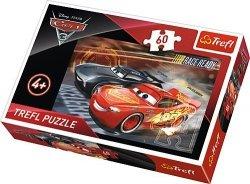 TREFL Puzzle 60 el. Cars 3, Auta (17297)