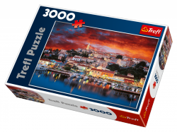 TREFL Puzzle 3000 el. Vrsar, Istria, Chorwacja (33018)