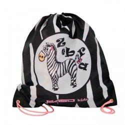 Worek na obuwie Zebra (20712B)