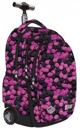 4068bcd8bb763 Plecak szkolny młodzieżowy na kółkach ST.RIGHT w owoce leśne, BERRIES TB1  (22014