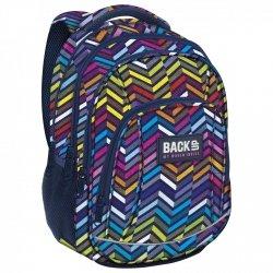 Plecak szkolny młodzieżowy BackUP KOLUMNY 3D (PLB2A10)