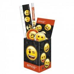 Zestaw przyborów szkolnych w puszce Emoji EMOTIKONY (ZPSPEM10)