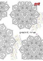 Zeszyt w kratkę 60 kartek, PAINT ME (09817)