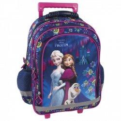 Plecak szkolny na kółkach FROZEN KRAINA LODU, licencja Disney (PL15KKL24)